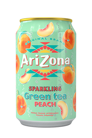 Arizona - Sparkling Green Tea Peach