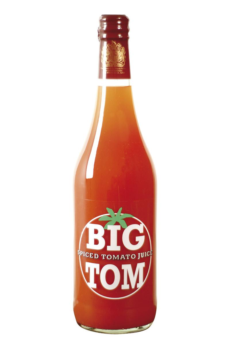Spiced Tomato Juice
