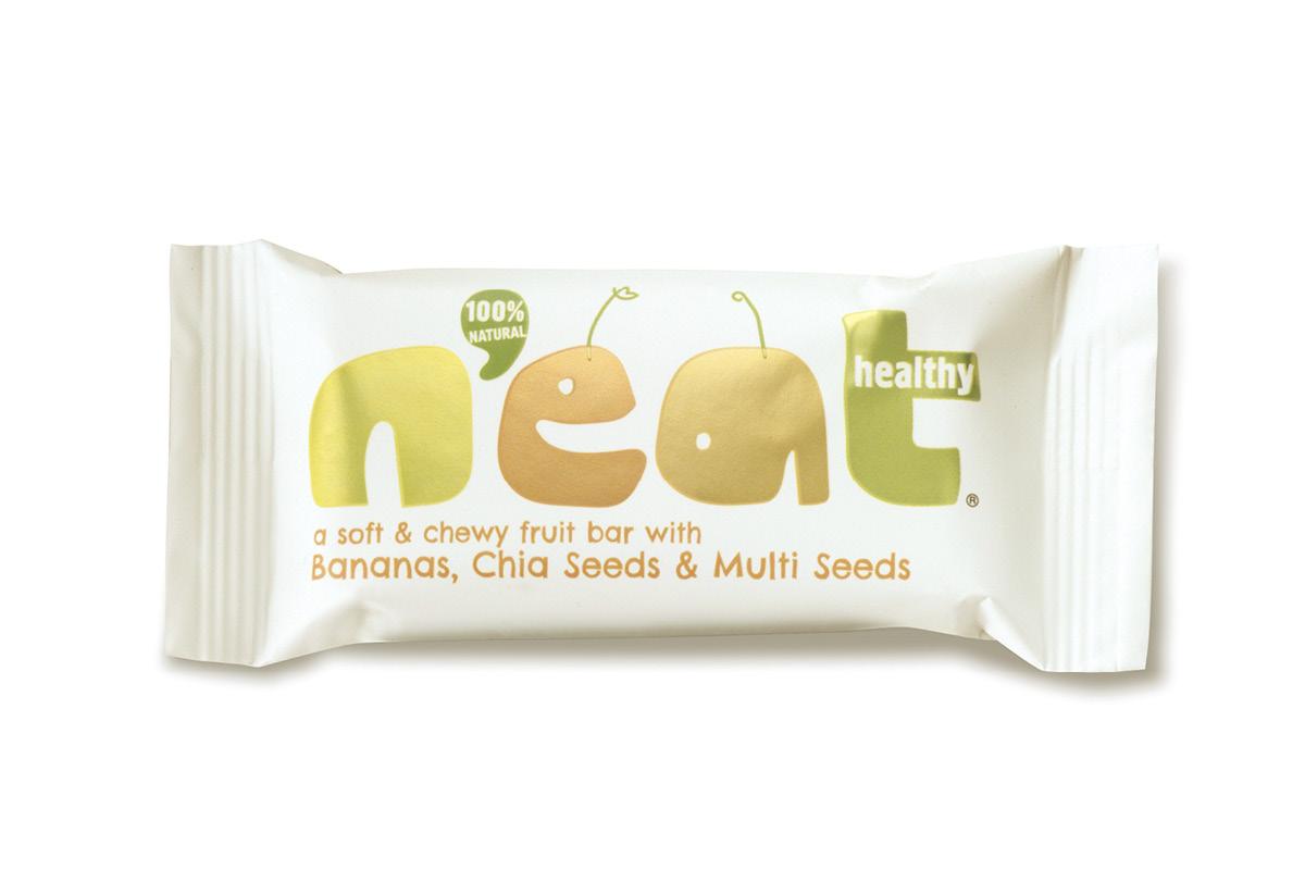 Bananas, Chia Seeds & Multi Seeds Fruit Bar